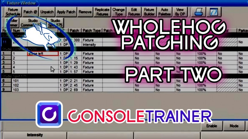 Wholehog Tutorial 4: Patching Part 2