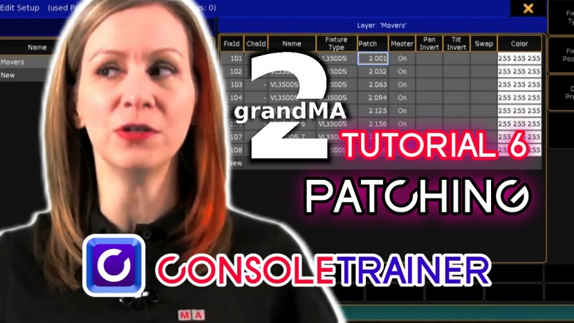 grandMA2 Tutorial 6: Patching