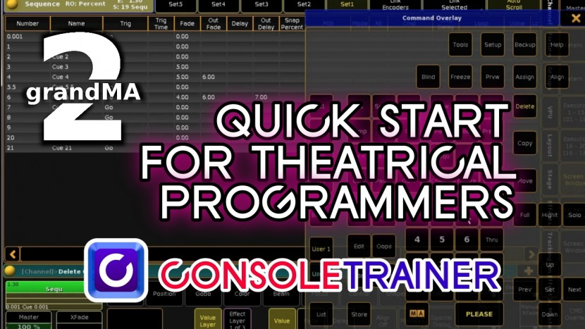 grandMA2 QuickStart for Theatrical  Programmers