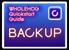 Hog QuickStart: Backups