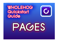 Hog QuickStart: Pages