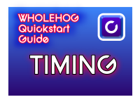 Hog QuickStart: Timing