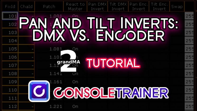 Pan and Tilt Inverts: DMX vs Encoder