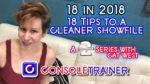 18 Tips to a Cleaner Showfile in 2018