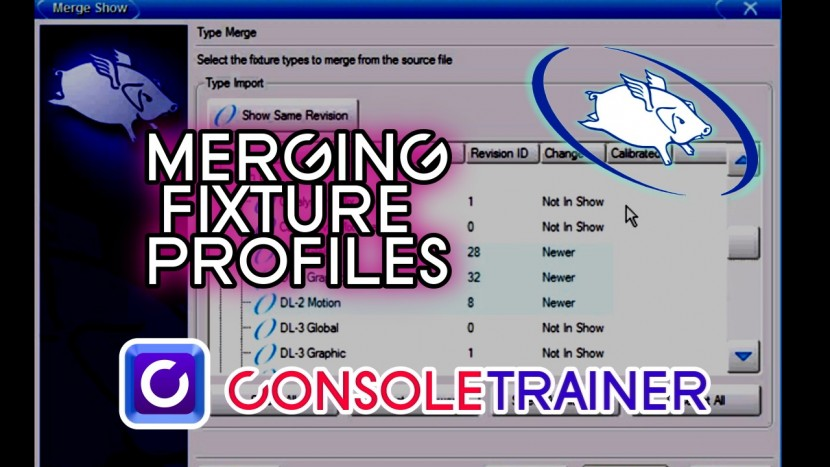 Wholehog Tutorial 6: Merging Fixture Profiles