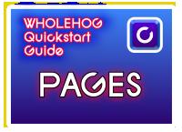 Hog QuickStart: Pages