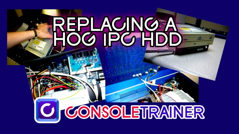 Replacing a Hog iPC HDD
