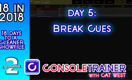 18 in 2018- Day Five: Break Cues