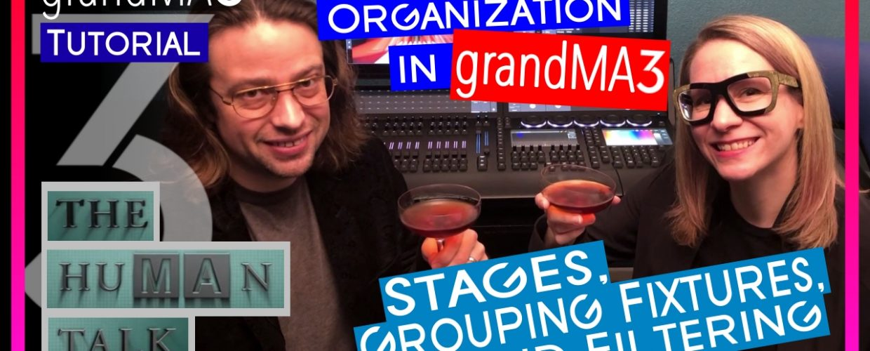 grandMA3 Stages, Grouping Fixtures and Filtering in the Patch