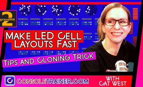 Make LED Cell Layouts Fast – Tips and Cloning Trick – grandma2