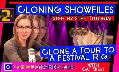 grandma2 Cloning: Clone a Tour to a Festival Rig