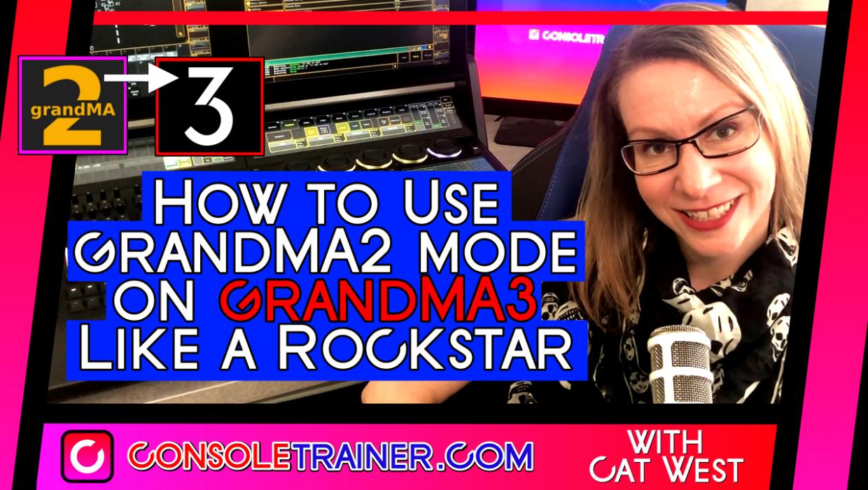 How to Use grandMA2 mode on grandMA3 like a Rockstar