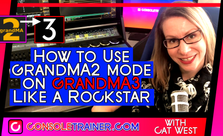 How to Use grandMA2 mode on grandMA3 like a Rockstar