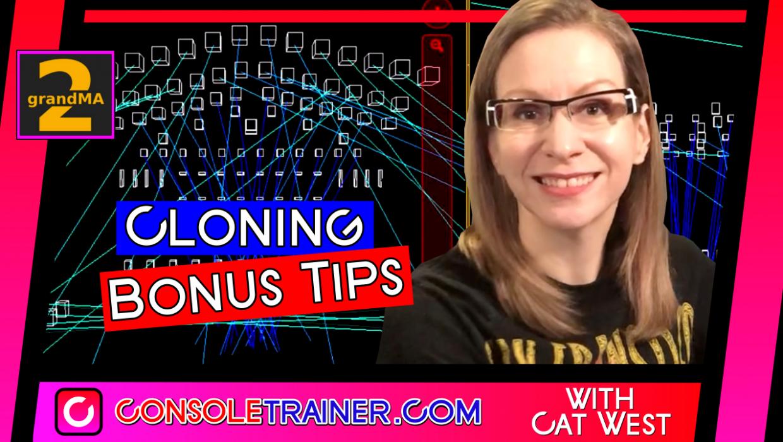 grandMA2 Cloning – Bonus Tips
