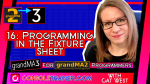 16: Programming in the Fixture Sheet | grandMA3 for grandMA2 Programmers